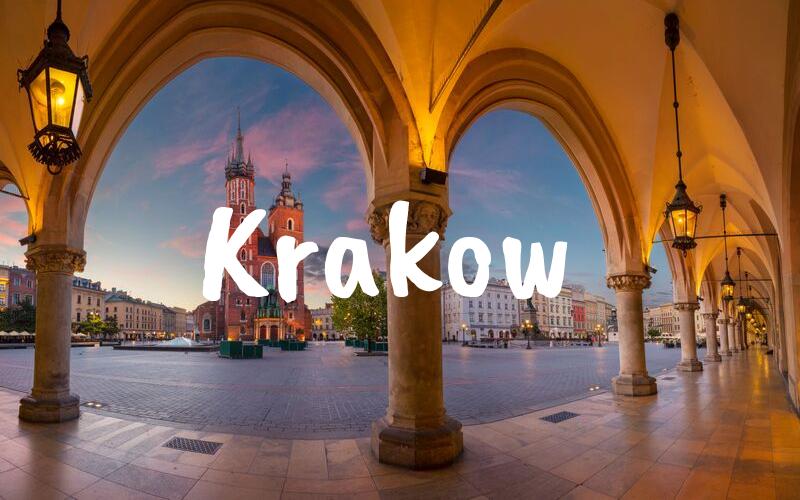 Krakow nyårsafton resa
