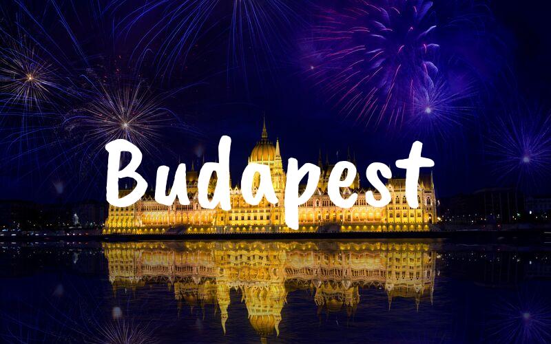 Budapest nyårsafton resa