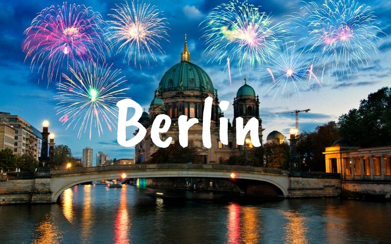 Berlin nyårsafton resa