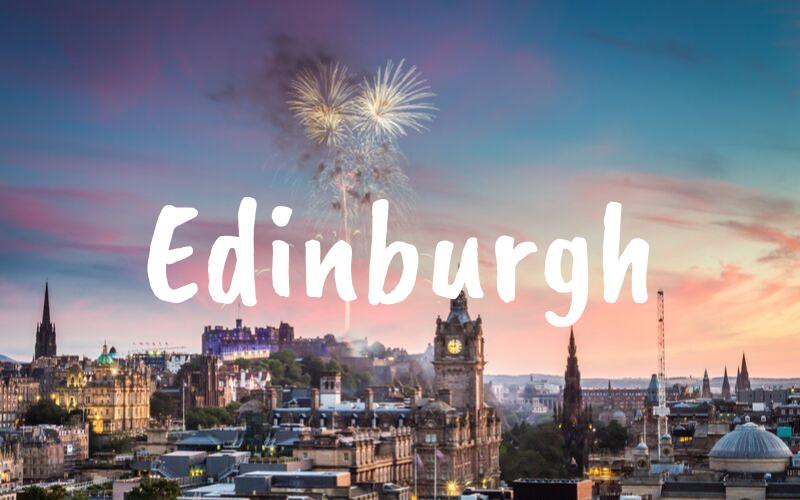 Edinburgh nyårsafton